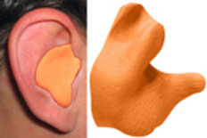 Radians Custom Molded Earplugs Orange Color