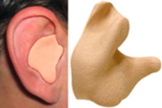 Radians Custom Molded Earplugs Tan Color