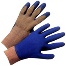 Cotton Knit Conforming Glove with Natural Rubber on one side (SOLD BY THE PAIR)