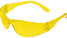 MCR Crews #CL114 Checklite Safety Eyewear w/ Amber Lens