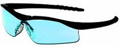 MCR Crews #DL113 Dallas Safety Eyewear w/ Light Blue Lens