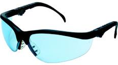 MCR Crews #KD313 Klondike Plus Safety Eyewear w/ Light Blue Lens