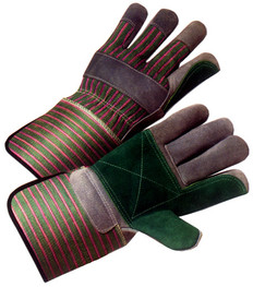 Double Palm Work Glove with Gauntlet Cuff (SOLD BY THE PAIR)