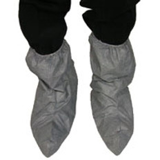 DuPont Tyvek® Skid Resistant FC Boot Covers Gray (10 PAIR SAMPLE PACK)