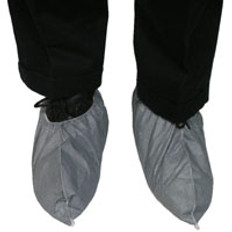 Dupont Tyvek Skid Resistant FC Shoe Covers (Gray) (10 PAIR SAMPLE PACK)