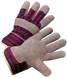 Economy Single Palm Leather Glove (SOLD BY THE PAIR)