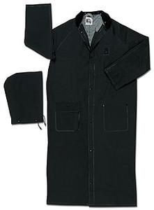 MCR Classic Plus 35 mm BLACK FR Raincoat PVC 60 inch Raincoat