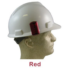 ERB #10031 Safety Helmet Blinking Lights - Red