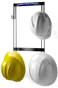 Rackems #5004 Safety Helmet and Coat Rack