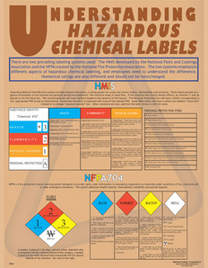 Understanding Labels Safety Poster - 24X32