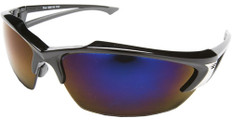 Edge #SDK118 Khor Safety Eyewear w/ Blue Mirror Lens