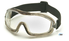 Pyramex #G704T Capstone Low Profile Safety Eyewear Goggles w/ Clear Lens