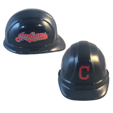 Cleveland Indians MLB Baseball Safety Helmets with pin lock suspensions