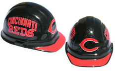 Cincinnati Reds MLB Baseball Safety Helmets with pin lock suspensions