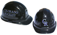 Colorado Rockies MLB Baseball Safety Helmets with pin lock suspensions