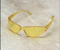 ERB #15285 Boas Safety Eyewear w/ Amber Lens