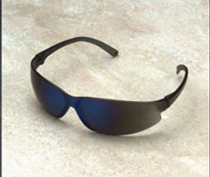 ERB #16506 Super ERB Safety Eyewear w/ Blue Mirror Lens