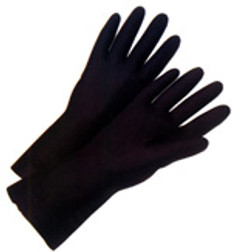 Neoprene Flock Lined 18 Mil Glove 13 inch length (sold by the dozen)