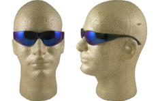 Gateway #369M Mini Starlite Safety Eyewear w/ Blue Mirror Lens