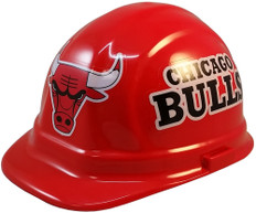 Chicago Bulls NBA Basketball Safety Helmets - Oblique View