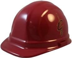 Cleveland Cavaliers NBA Basketball Safety Helmets  - Oblique View