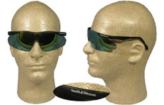 Smith and Wesson #5845 Magnum Safety Eyewear w/ Gold Mirror Lens