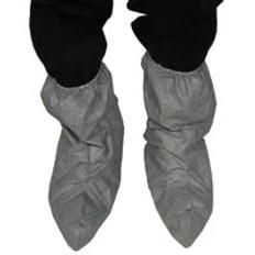 DuPont Tyvek® Fiber Skid Resistant FC Boot Covers Gray (50 pr)