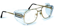Safety Optical Service #B52 Universal Side Shields B52 Clear for Larger Glasses