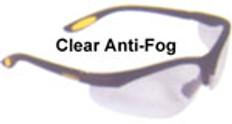 Dewalt #dpg58-11 Reinforcer Safety Eyewear w/ Fog Free Clear Lens