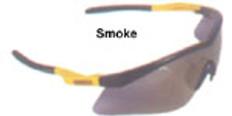 Dewalt #dpg58-2 Reinforcer Safety Eyewear w/ Smoke Lens