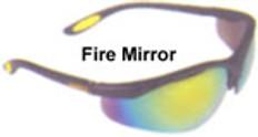 Dewalt #dpg58-6 Reinforcer Safety Eyewear w/ Red Fire Lens