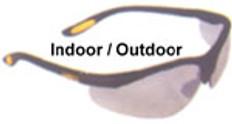 Dewalt #dpg58-9 Reinforcer Safety Eyewear w/ Indoor Outdoor Lens