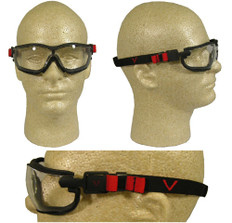 Pyramex #GB1810ST V2G Safety Eyewear w/ Fog Free Clear Lens