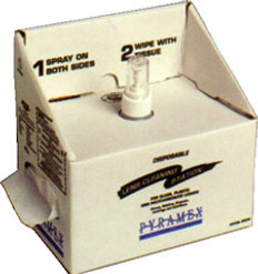 Pyramex #LCS10 Disposable Safety Eyewear Cleaning Station