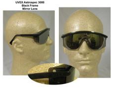Uvex #S1379 Astro 3000 Safety Eyewear w/ Mirror Lens