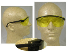 Uvex #S145 Astro 3000 Safety Eyewear w/ Amber Lens