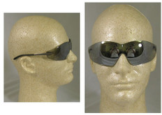 MCR Crews #S2117 Blackjack Safety Eyewear w/ Silver Mirror Lens