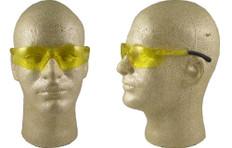 Pyramex #S2530SN Mini Ztek Safety Eyewear w/ Amber Lens