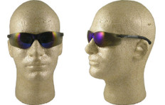 Pyramex #S2575SN Mini Ztek Safety Eyewear w/ Blue Mirror Lens