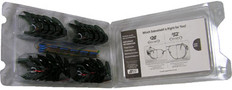 Safety Optical Service #SM-5327 Universal Smoke Sideshields Compliance Packs