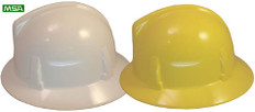 MSA Topgard Full Brim Hats With Fas-Trac Liners (Assorted Colors)