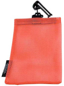 "Open Mesh Utility Guard End 5"" x 8"" Blaze Orange"