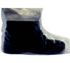 Plastic Boot Covers 4 Mil Plastic (10 PAIR SAMPLE PACK)