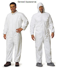 Promax Coveralls w/ Hood, Elastic Wrists and Ankles (25 per case)