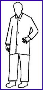 Promax Lab Coat Open Cuff - no pocket (30 per case)