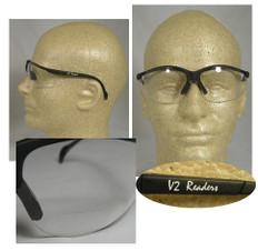 Pyramex #SB1810R20 Venture II Readers Safety Eyewear w/ 2.0 Clear Lens