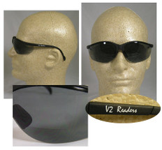 Pyramex #SB1820R20 Venture II Readers Safety Eyewear w/ 2.0 Smoke Lens