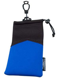 "Soft Pouch Glove Guard End 5"" x 9"" Blue"