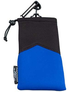 "Soft Pouch Utility Guard End 5"" x 9"" Blue"