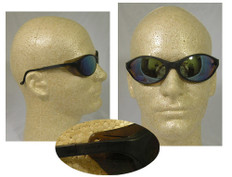 Uvex #S1604 Bandit Safety Eyewear w/ Mirror Lens